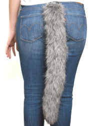 Clip-On Wolf Tail
