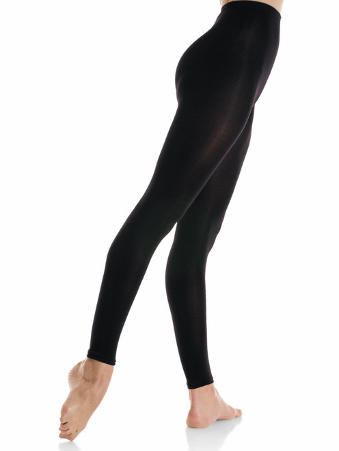 Mondor 347 Durable Footless Tights - Black