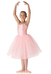 "Child Soft Tulle Tutu - 20"" Pink"