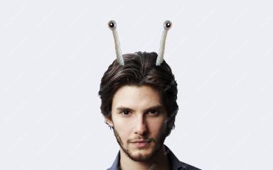 Antenna Snail Headband Supersoft