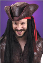 Hat Pirate Tricorn Dlx