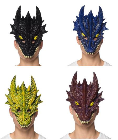 Mask Supersoft Adult Dragon