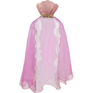 Pink Mermaid Cape