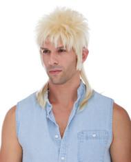 Mullet Wig - Blonde