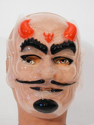 Transparent Devil Mask