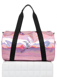Holographic Pink Duffel Bag