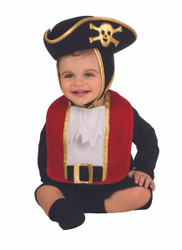 Pirate Bib and Hat - Baby
