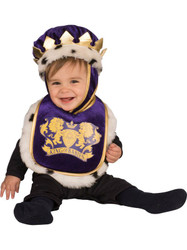 King Baby Bib and Crown