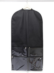 Garment Bag  with Clear Pockets