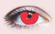 Red Mini Sclera Costume Contacts