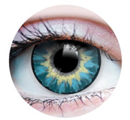 Delightful Azure Cosmetic Contacts