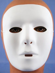 White Matte Mask