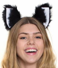 Plush Black Cat Ears