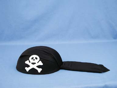 Pirate scarf style hat