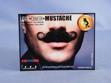 Barbershop Style Moustache