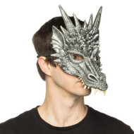 Supersoft Silver Dragon Mask