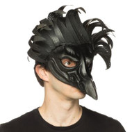 Supersoft Crow Mask with Trim
