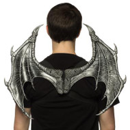 Supersoft Silver Dragon Wings