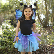 Midnight Tutu and Wings Set