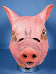 Latex Pig Mask