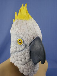 Cockatoo Latex Mask