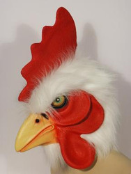 Rooster Latex Mask