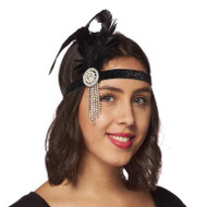 Precious Pearly Flapper Headband