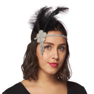 Flower Burst Flapper Headband