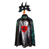 Dragon Knight Reversible Cape with Mask