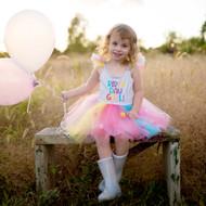 Birthday Girl Dress and Headband