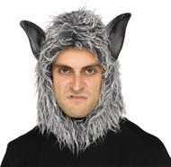 Grey Wolf Hood