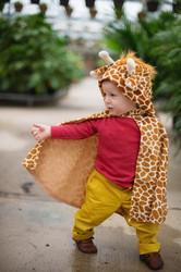 Toddler Giraffe Cape