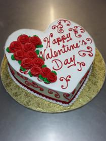 Model# 61002 - Cascading Flowers Heart