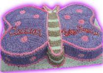 Model# 41001 Butterfly Cake