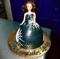 Model # 61602 Spider-Web Doll 3D cake