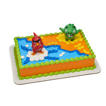 11027 Angry Birds™ Red Bird & Bad Piggy DecoSet®