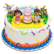 Model# 11036 Dora the Explorer™ Birthday Celebration DecoSet®