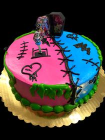 11043 Monster High™ Frankie Stein Cool Ghouls DecoSet®