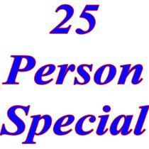 25 Person Special