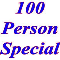 100 Person Special