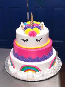 Model# 13006 Unicorn Cake