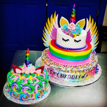 Model# 14001 Unicorn Cake with Wings