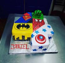 Model# 11090 Avengers number cake