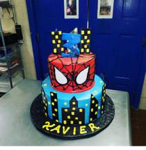 Model# 12069 Spider-man 3 Cake