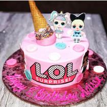 Model# 11089 LOL Surprise Cake w/ Sprinkles