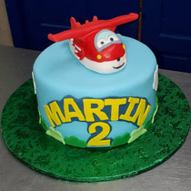 Airplane Fondant Cake