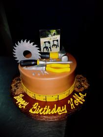 Model# 12072 Construction Cake