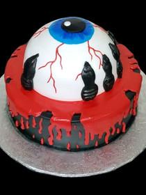 Model # 62605 Eye Ball Cake