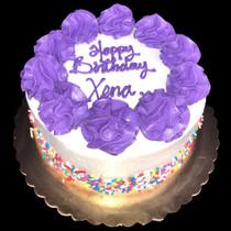 Model# 11116 Rainbow Sprinkles Cake