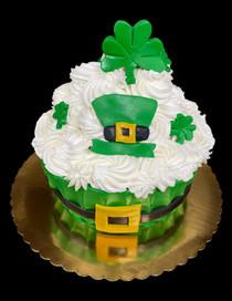St. Patty's Day Cupcake Cake